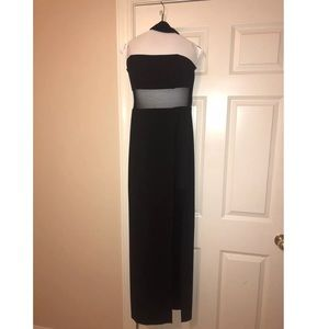 ABS by Allen Schwartz Black Evening Dress Size 4